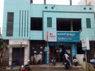Commercial Space for Rent at Laxmi Hospital, Godarigunta, Kakinada