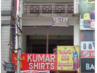 Commercial Space for Rent at Masjid Center, Kakinada
