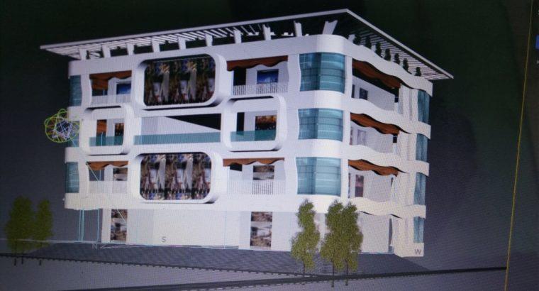 G +3 Commercial Building for Rent at Ravulapalem