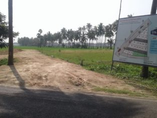 DTCP Approved Plots For Sale at Veeravasam to Marteru Lane (Penumantra Mandalam)