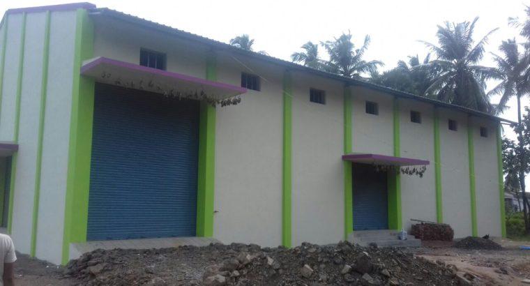 Godown For Rent at Velupuru, Eluru