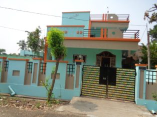 G +1 Duplex House For Rent at Bhaskar Nagar Road, Rajahmundry