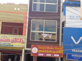 Commercial Space for Rent at Prakasham Road, Tuni