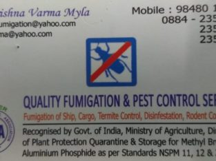 Quality Fumigation & Pest Control Services, Commercial Road, Kakinada