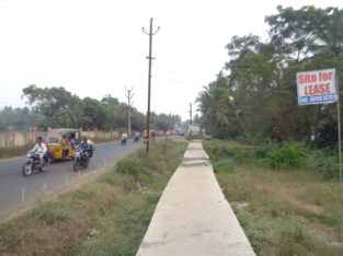 Commercial Site For Lease at Bhatnavilli, Amalapuram