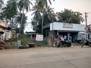 Site For Lease at Main Road Thotapeta, Draksharamam