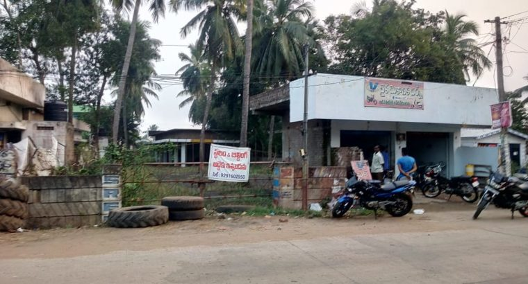 Site For Lease at Main Road Thotapeta, Draksharamam