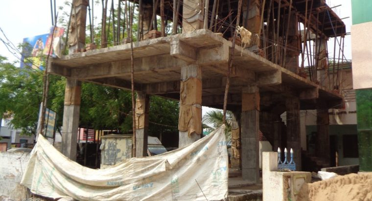 G +2 Commercial Building For Rent at PowerPeta, Eluru