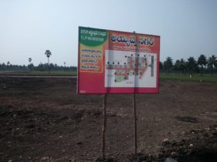 DTCP Plots for Sale at Ayyapa Nagar, Polamuru, Penumantra Mandalam.