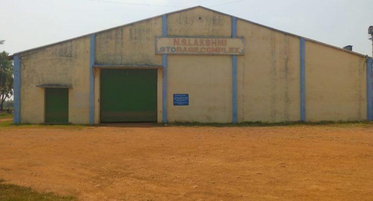 Commercial Go-Down For Lease at Main Road Penuguduru.