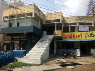 Commercial Space for Rent at Main Road, N.R Peta, Eluru