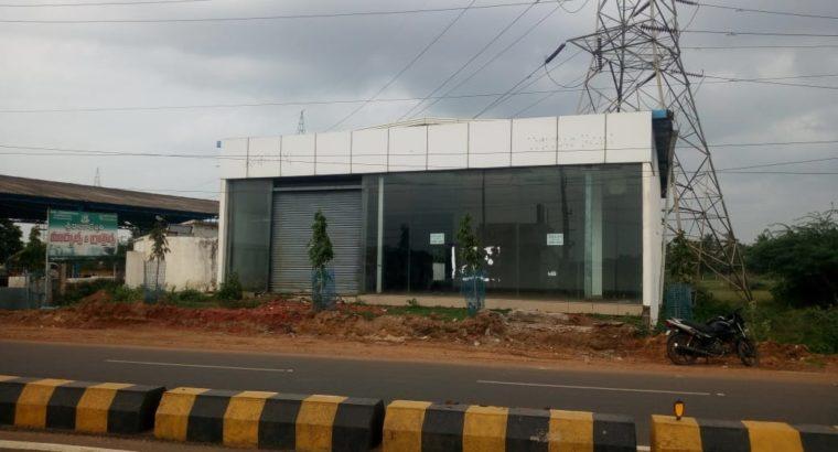 Commercial Space for Rent near Achampet Jn, Kakinada.
