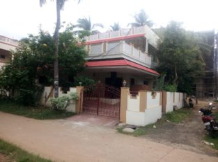 Duplex House For Sale at New Bank Colony, Kothapeta