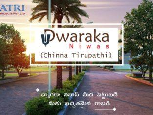 Dwarka Niwas Gated Community Near Dwaraka Tirumala – Independent Houses, 1BHK & 2BHK Apartments.