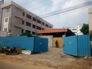 Shed + Open Site for Lease at Tilak Street, Kakinada