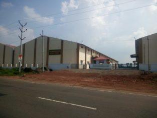 New Commercial Go-Downs For Rent or Lease at Rangampeta Mandalam, Kotapadu