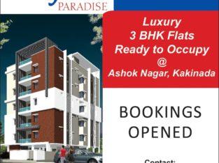 3BHK Flats for Sale at Ashok Nagar, Kakinada