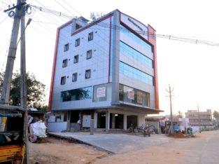 Commercial G+4 Building for Rent in Nuzvidu, Vijayawada