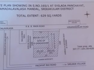 Residential or Commercial Land For Sale at R & B Main Road, Srikakulam