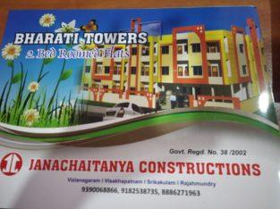 2BHK Flats for Sale at Soni Estates, Thotapallem, Srikakulam