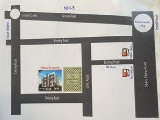 3BHK Group House For Sale at Currency Nagar, Vijayawada