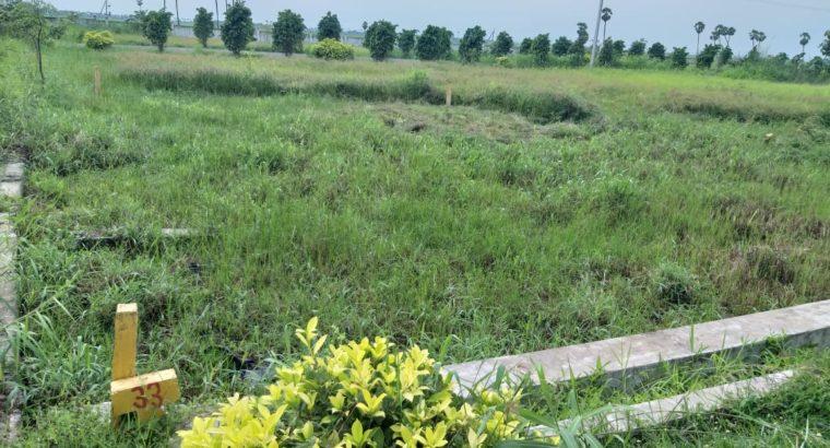 15 Acres of Open Plots CRDA Approved Gated Community by Chanakkya Township, Vijayawada