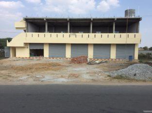 2 Floors Commercial Shops For Rent at Guru Raghavendra Colony, Kamareddy