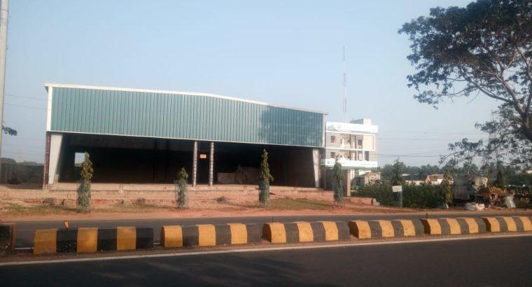 Commercial Go-Down For Lease / Rent Near Achampeta Jn, Pithapuram Road, Kakinada