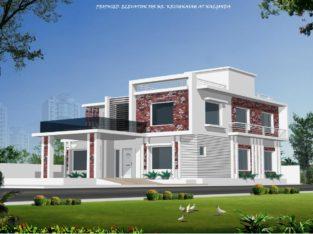 Triplex House For Sale at Chandragiri Vilas, Nalgonda City, Nalgonda District.