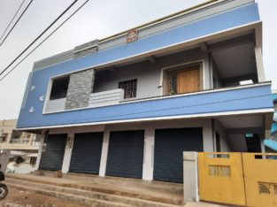 G +1 Commercial Building For Rent at Main Road, Valasapakala Kakinada.