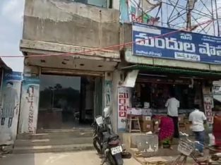 G +1 Commercial Space for Rent / Lease at Palakonda Road, Rajam.