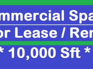 Commercial Space for Rent / Lease at Venkata Subbayya Colony, Tadepalligudem Town.