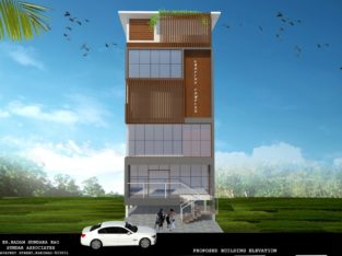 G +2 Commercial Building for Rent at Cinema Road, Kakinada.