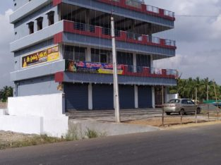 G +2 Commercial Building Space for Rent / Lease at Peruru, Amalapuram