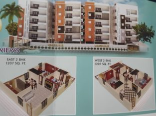 3BHK + 2BHK Flats For Sale at Sri City, Nellore.