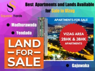 3 BHK & 2 BHK Flats and Land for Sale at Visakhapatnam