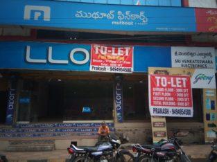 G+2 Commercial Building For Rent at Innespeta, Rajahmundry