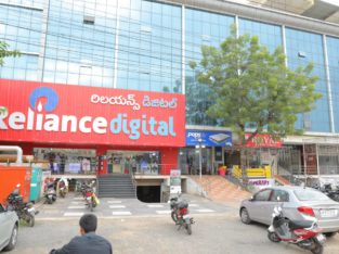 G+1 Commercial Space at Reliance Digital Building For Rent / Lease at Bhavanipuram Bypass Road, Vijayawada