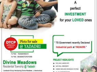 DTCP Residential Plots for Sale at Yadagarigutta, Yadadri