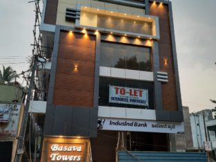 Commercial Space available in New building 1st ,2nd and 3rd floor Opp.Konda Reddy Rayalaseema College