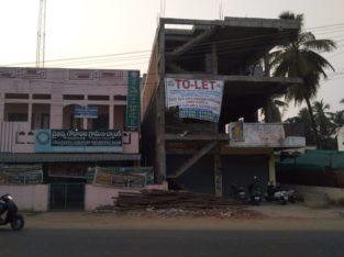 G +2 Commercial Building For Rent or Lease Near Chaitanya Godavari Grameena Bank, Amalapuram