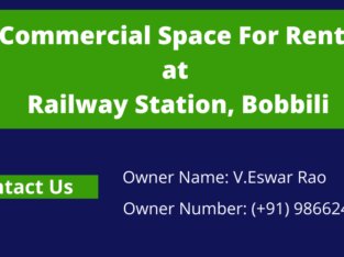 Commercial Space For Rent at Velama Street, Near Railway Station, Bobbili Town.