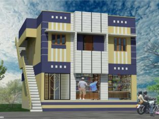 G+1 Commercial Building Space For Rent at Bommala Veedhi, Tanuku