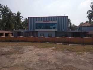 Commercial Site Plus Shed Space For Rent at Main Road, Thatipaka.