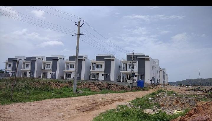 New 3 BHK Duplex House For Rent at Gollapudi, Vijayawada.