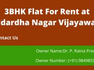 3BHK Flat For Rent at Siddhartha Nagar, Vijayawada.
