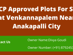 DTCP Approved Plots For Sale at Venkannapalem Near Anakapalli City