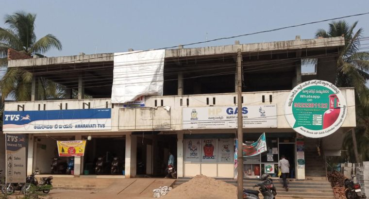 G +1 Commercial Space For Rent at Main Road, Mummidivaram.