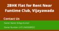 2BHK Flat For Rent Near Funtime Club, Vijayawada.