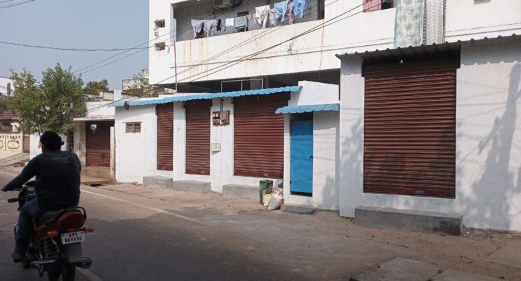 4 Commercial Shops For Rent at Gandhinagar, Kakinada